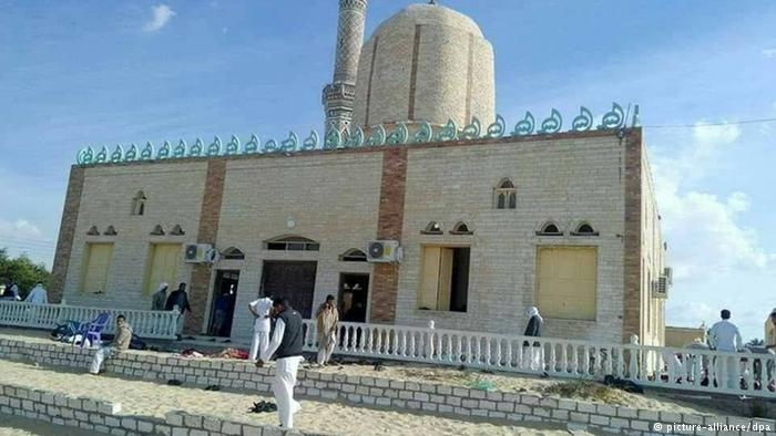 Conditionsbefore Egypt Mosque Attack