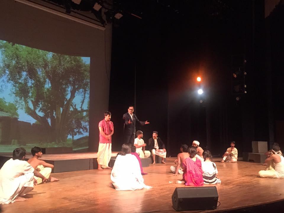 A scene from Ek Tha Yugpurush - BR Ambedkar