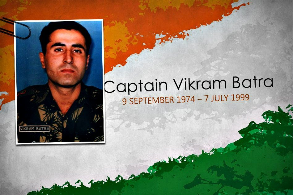 "Sher Shah ""Capt. Vikram Batra"" PVC (9 September 1974 – 7 July 1999)"