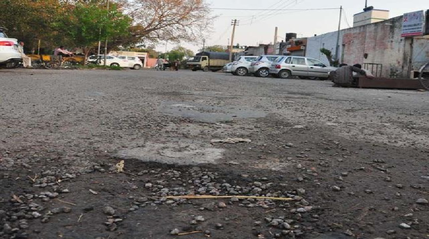 Bad Lane in Sector 7 Chandigarh