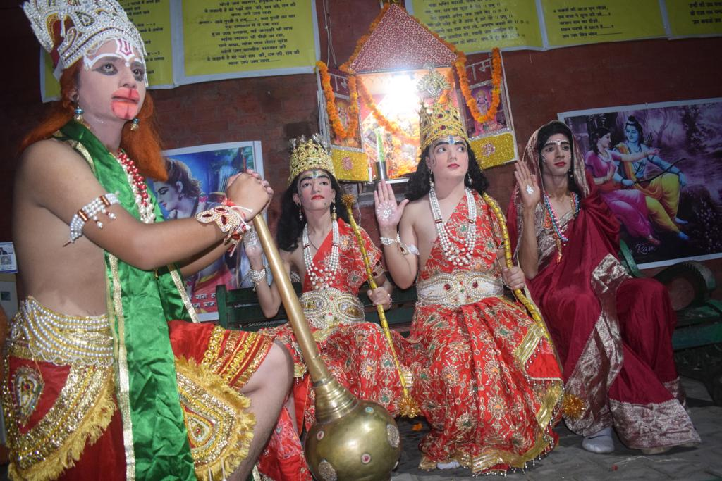Navyug Ramleela and Dussehra Committee, Chandigarh Rehearsals
