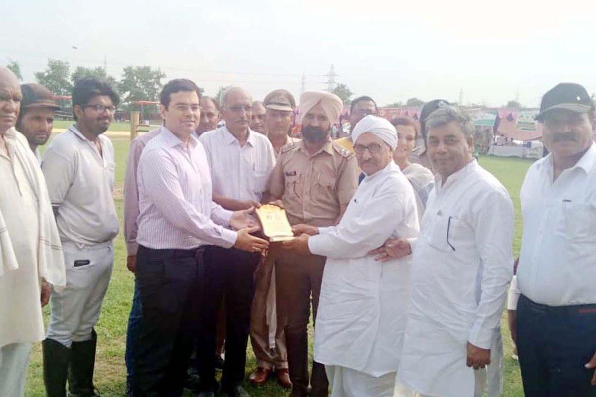 HGSA Chairman visited Animal Fair in Haryana