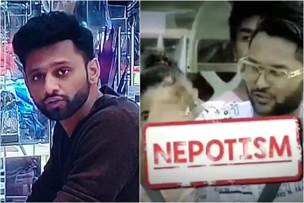 Rahul Vaidya Raises Nepotism in #BiggBoss Season 14