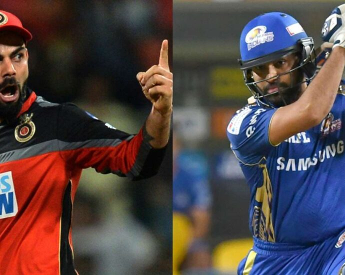 Virat and Rohit in captaincy race