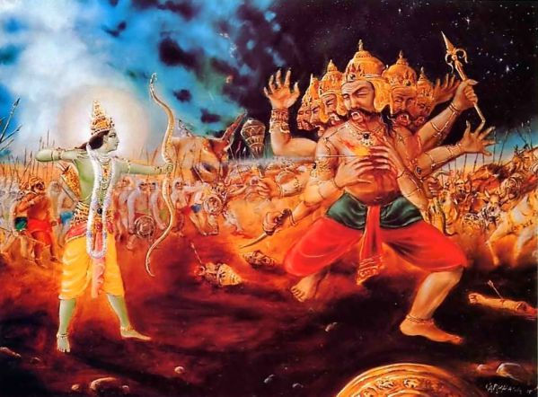 Ravana will always be known as a Villain, not a Hero