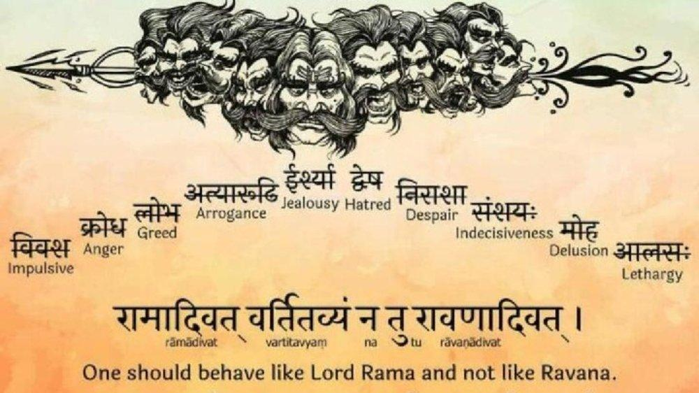 Ravana will always be known as a Villain, not a Hero