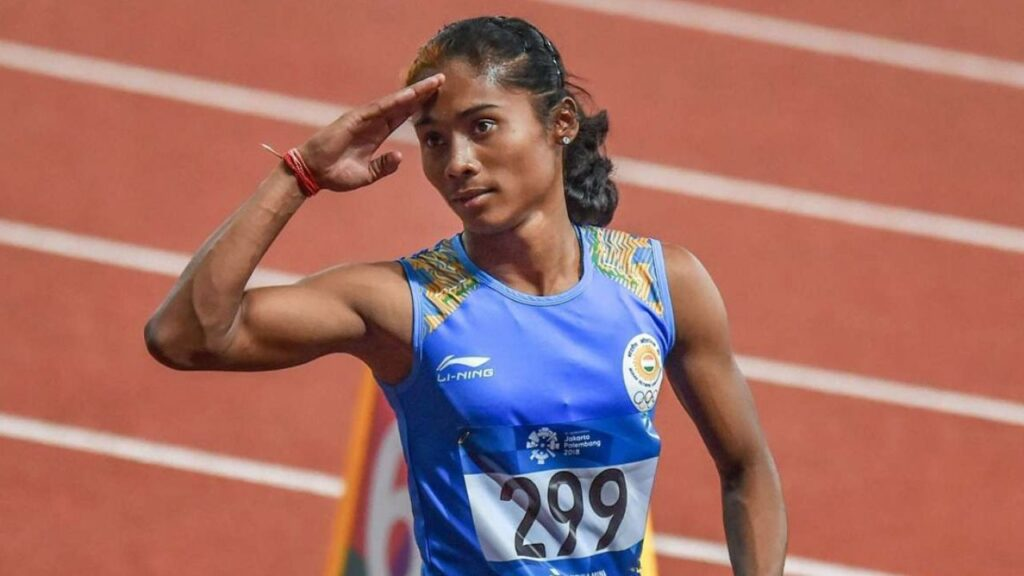 Strong, Intelligent and Simple - Hima Das