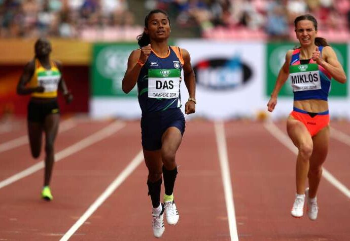 World Champion Hima Das