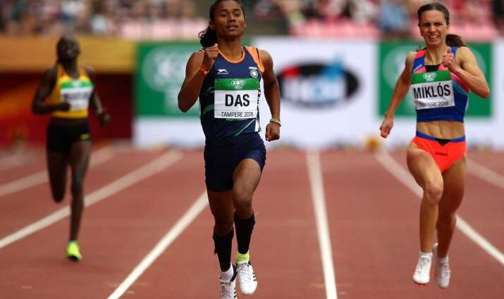 World Champion Hima Das