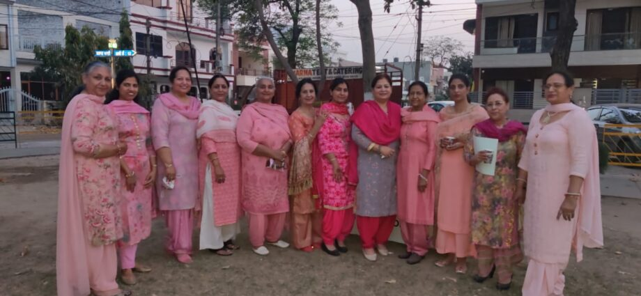 Women Welfare Association Inaugurated in Sector 60 Mohali