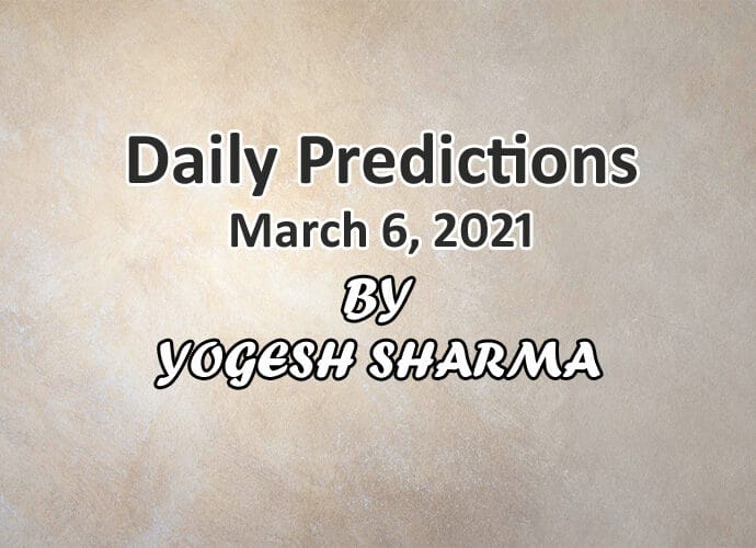 Daily astrology predictions 6 march